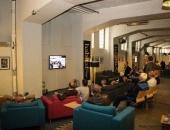 A glimpse into the VIP lounge